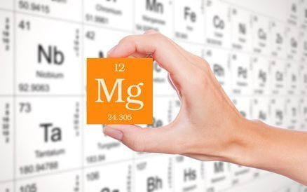 Magnesium from Mendeleev's periodic table