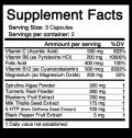 weekend warrior supplement facts