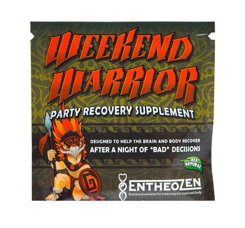 Weekend Warrior- Party Recovery Supplement