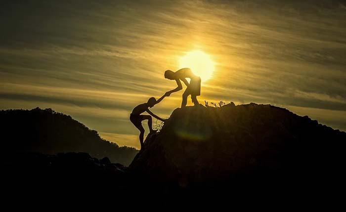 helping partner up